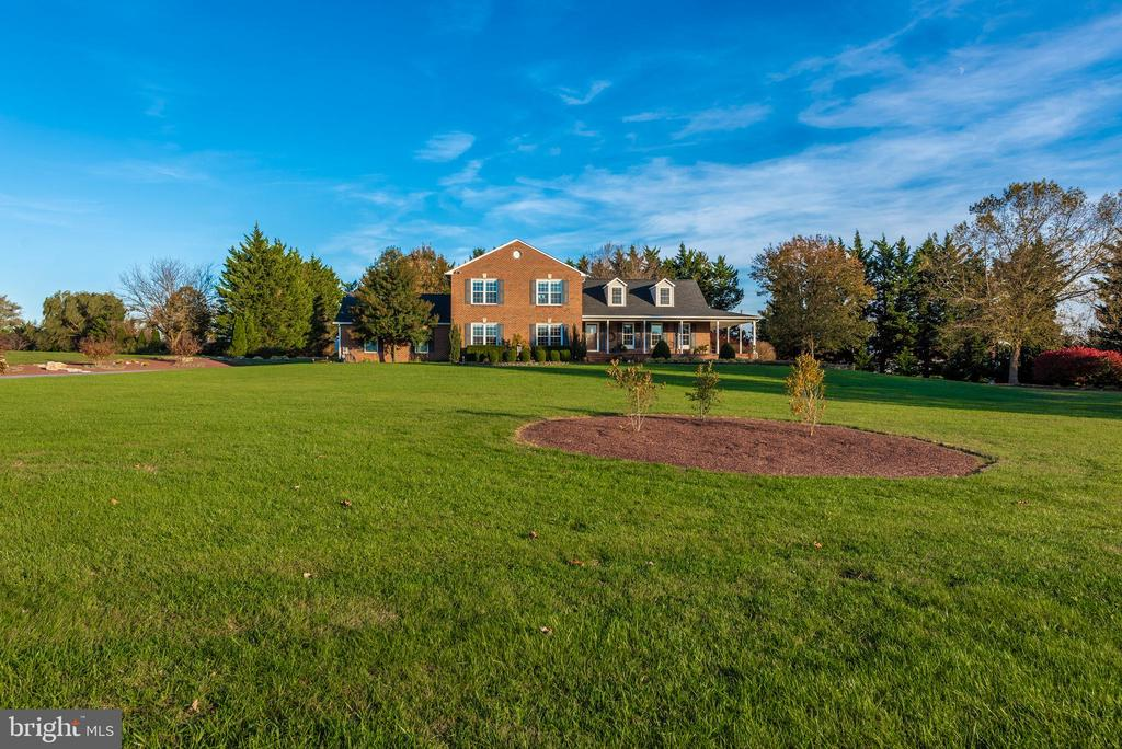 The hardscape/landscape is part of the 2.2 acres - 5745 STONEY CREEK CT, FREDERICK