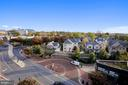 View from Balcony - 7171 WOODMONT AVE #605, BETHESDA