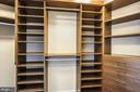 Master Bedroom Suite - One of 2 Walk-In Closets - 7171 WOODMONT AVE #605, BETHESDA