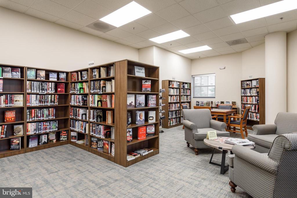 Library - 19355 CYPRESS RIDGE TER #615, LEESBURG