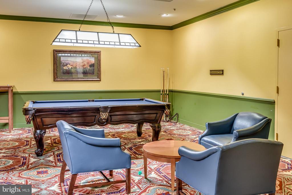 Billard Room - 19355 CYPRESS RIDGE TER #615, LEESBURG