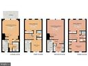 Floor plan with almost 2,600 square feet - 40 G ST SW, WASHINGTON