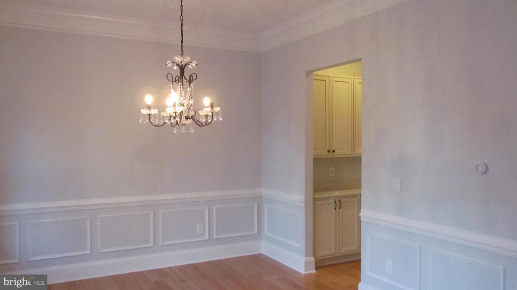 Dining  Room - 1103 WALKER CIR SW, VIENNA