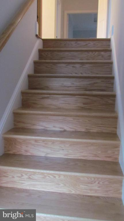 Staircase to Upper Level - 1103 WALKER CIR SW, VIENNA