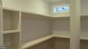 Master Bedroom Closet - 1103 WALKER CIR SW, VIENNA