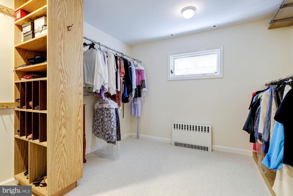 Large Master Closet - 1804 HOBAN RD NW, WASHINGTON