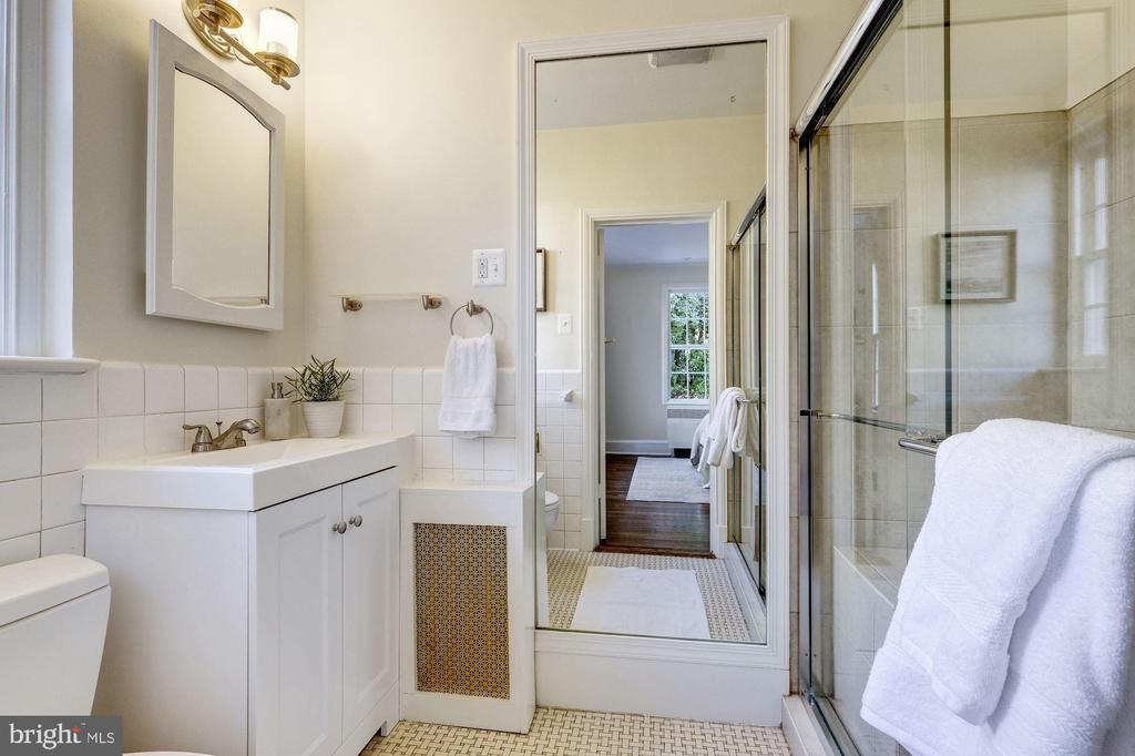 First Floor Bath - 1804 HOBAN RD NW, WASHINGTON