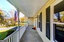 Front porch with tons of space for guests. - 21 KELLY WAY, STAFFORD