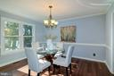 Formal dining with natural lighting. - 21 KELLY WAY, STAFFORD