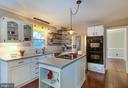 Beautiful kitchen with granite countertops. - 21 KELLY WAY, STAFFORD