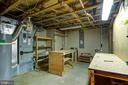 Giant workshop/storage space in the basement. - 21 KELLY WAY, STAFFORD