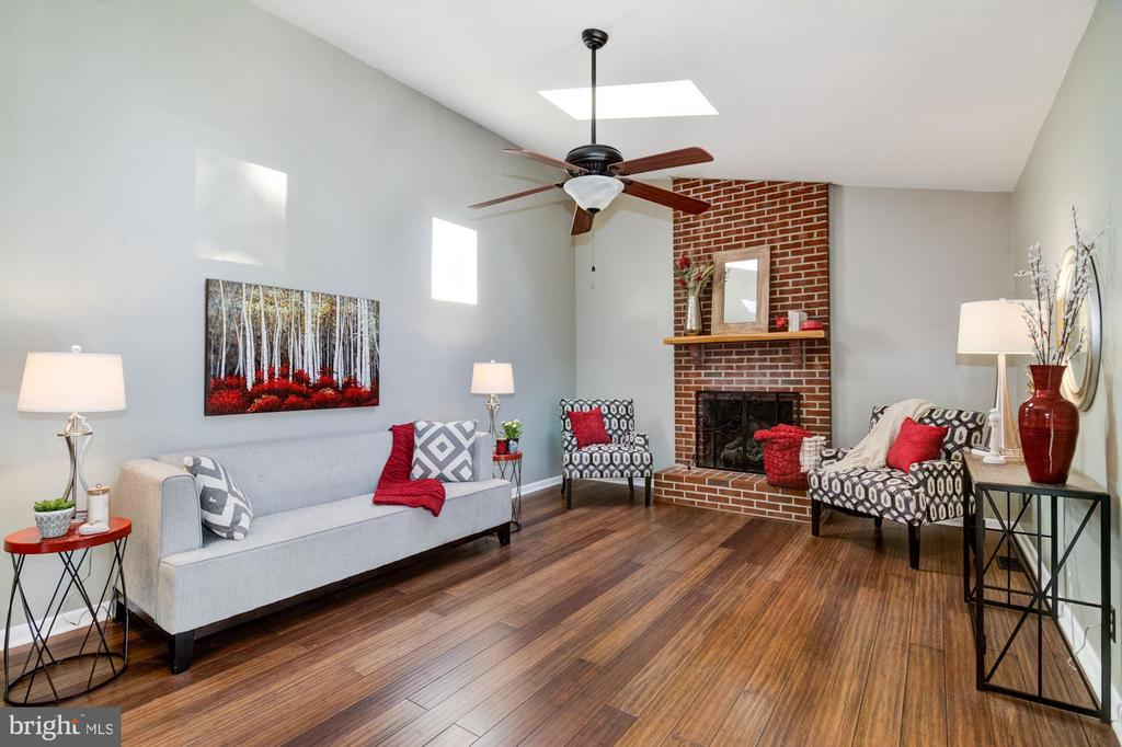 Family room with gas fireplace. - 21 KELLY WAY, STAFFORD