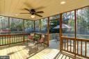Lovely screened in porch. - 21 KELLY WAY, STAFFORD