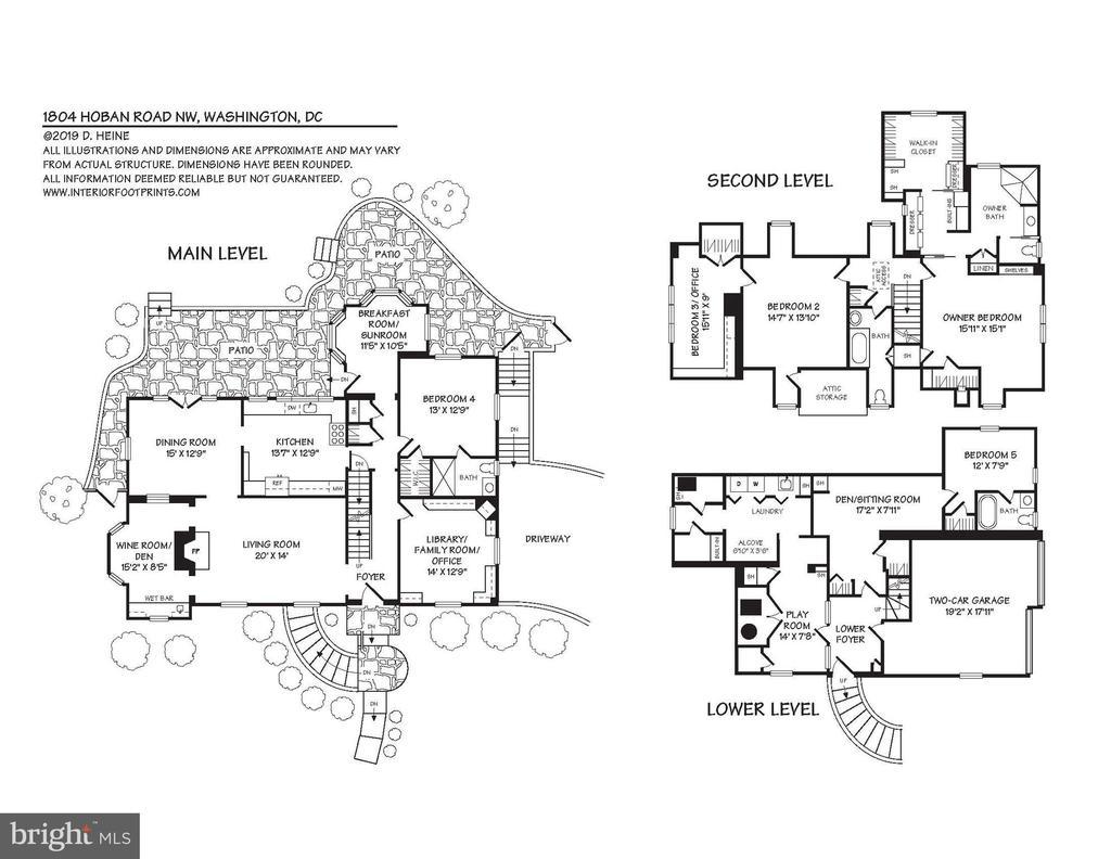 Floorplans - 1804 HOBAN RD NW, WASHINGTON
