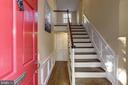 Elegant 2 story foyer with coat closet - 3719 CHESAPEAKE ST NW, WASHINGTON