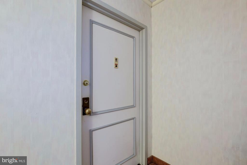 Front Door - 4601 N PARK AVE #715, CHEVY CHASE