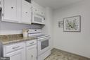 Kitchen - 4601 N PARK AVE #715, CHEVY CHASE