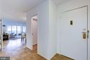 Foyer - 4601 N PARK AVE #715, CHEVY CHASE