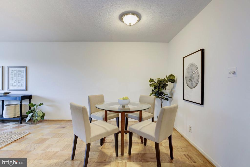 Dining / Living - 4601 N PARK AVE #715, CHEVY CHASE