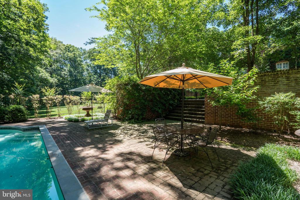 Pool and Terrace - 929 LEIGH MILL RD, GREAT FALLS