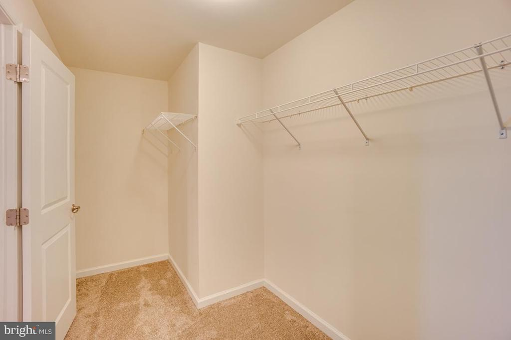 Large closet in lower level bedroom - 15 LIBERTY KNOLLS DR, STAFFORD