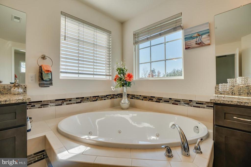 Jetted tub master bathroom - 15 LIBERTY KNOLLS DR, STAFFORD