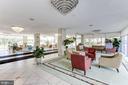comfortable lobby - 10201 GROSVENOR PL #1510, ROCKVILLE