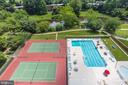 tennis court and pool - 10201 GROSVENOR PL #1510, ROCKVILLE