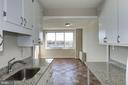 kitchen to window - 10201 GROSVENOR PL #1510, ROCKVILLE