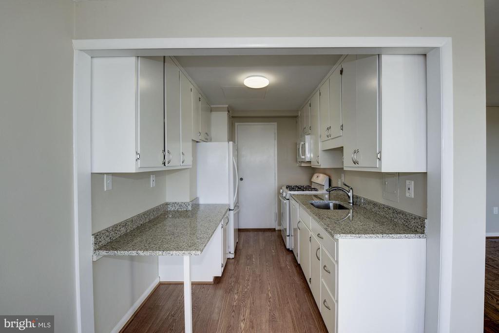 updated kitchen - 10201 GROSVENOR PL #1510, ROCKVILLE