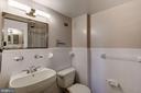 bathroom one - 10201 GROSVENOR PL #1510, ROCKVILLE