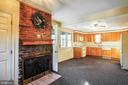Eat in Kitchen w Fireplace - 4931-B GREEN VALLEY RD, MONROVIA