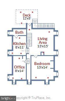 Upper Level 2 Floor Plan - 4931-B GREEN VALLEY RD, MONROVIA