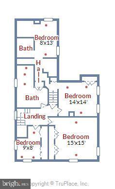 Upper Level 1 Floor Plan - 4931-B GREEN VALLEY RD, MONROVIA