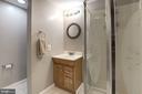 Lower Level Full Bathroom - 1304 CASSIA ST, HERNDON