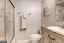 Private Bath in Bedroom #4 - 1304 CASSIA ST, HERNDON