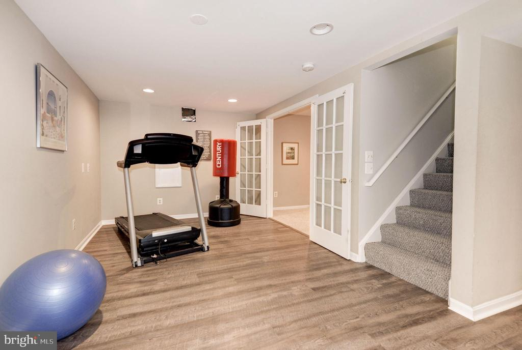 Lower Level Exercise Area - 1304 CASSIA ST, HERNDON