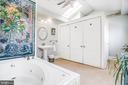 Master Bath w/laundry closet - 232 PRINCESS ANNE ST, FREDERICKSBURG
