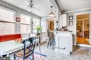 Kitchen dining area with wet bar opens to DR. - 232 PRINCESS ANNE ST, FREDERICKSBURG