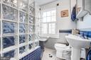 2nd upper level full bath w/walk-in shower - 232 PRINCESS ANNE ST, FREDERICKSBURG
