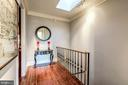 Upper Level Landing with Skylight - 2130 BANCROFT PL NW, WASHINGTON