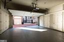Two-Car Garage with Built-In Storage - 2130 BANCROFT PL NW, WASHINGTON
