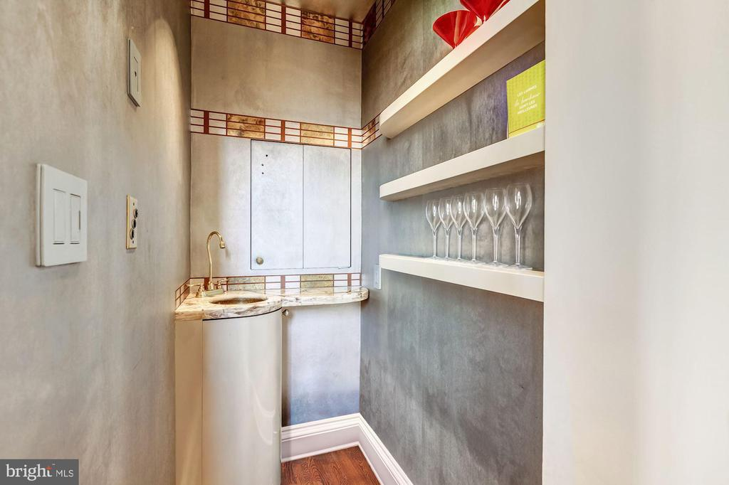 Wet Bar and Dumb Waiter to All Levels - 2130 BANCROFT PL NW, WASHINGTON