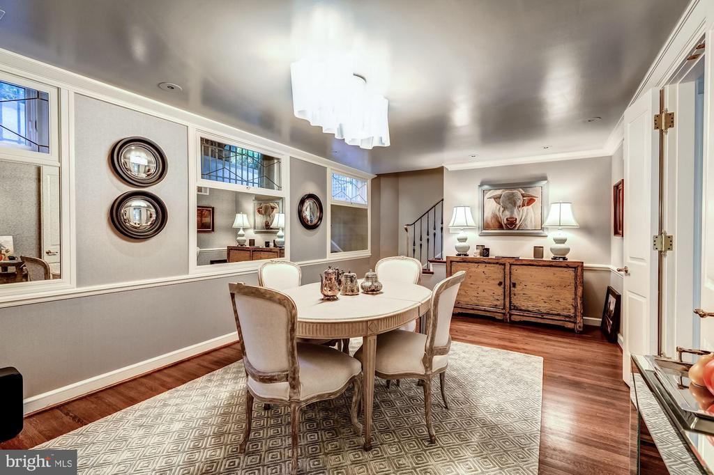 Spacious Formal Dining Room - 2130 BANCROFT PL NW, WASHINGTON