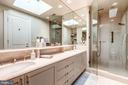 Master Bath with Marble Shower - 2130 BANCROFT PL NW, WASHINGTON
