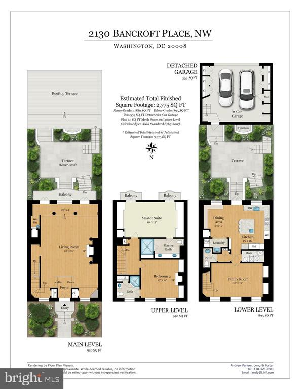 Floor Plan - 2130 BANCROFT PL NW, WASHINGTON