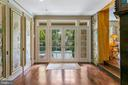 French Doors to Pool and Terrace - 3005 45TH ST NW, WASHINGTON