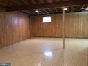 Unfinished recreation room - 3608 UNIVERSITY DR, FAIRFAX