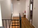 Upper level hallway - 3608 UNIVERSITY DR, FAIRFAX