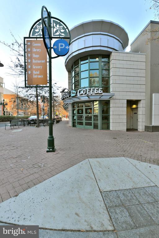 Shirlington Caribou Coffee - 4165 S FOUR MILE RUN DR #204, ARLINGTON